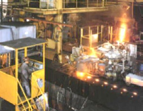 Metal Pouring at ABB Foundry Group