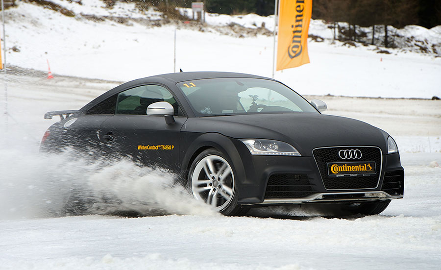 Condition Testing for Continental's WinterContact Tires