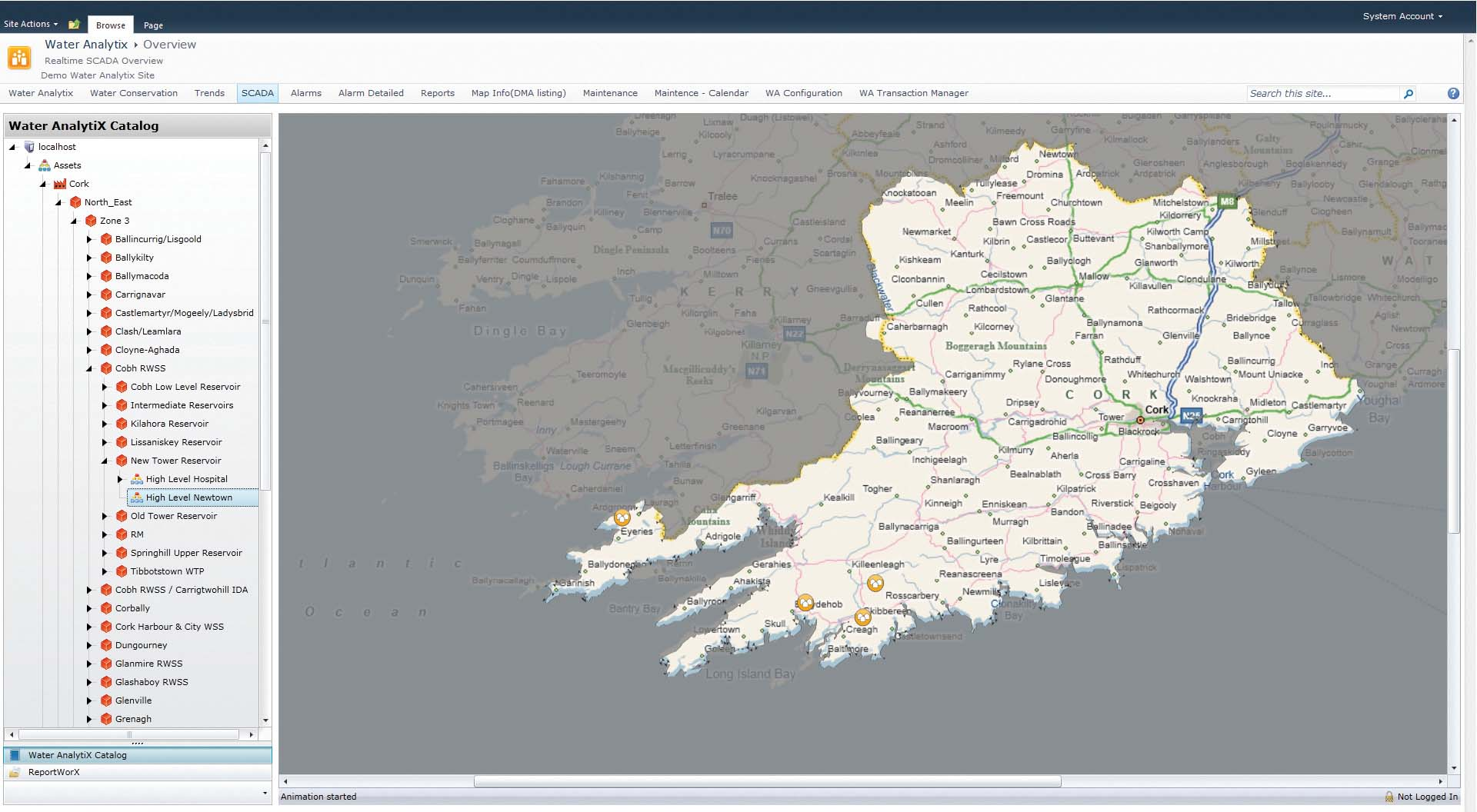 Bing Maps Integration with AnalytiX