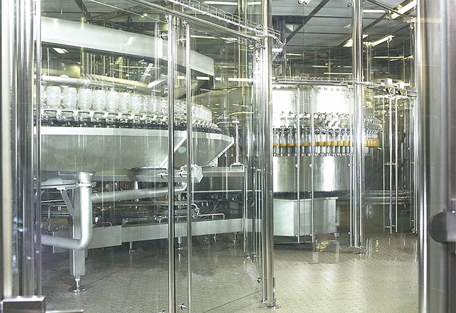 Aseptic Cold Filling at a KHS Maschinen Beverage Industry Customer