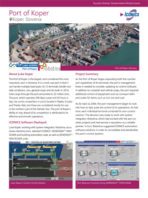 Port of Koper Success Story Thumbnail